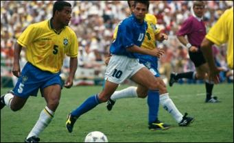Mauro Silva anulando o Baggio!